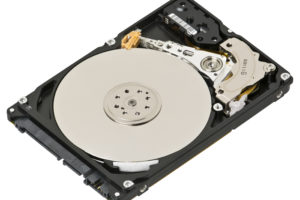 Opened Internal Hard Drive